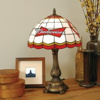 Budweiser - Stained-Glass Tiffany-Style Table Lamp at ...
