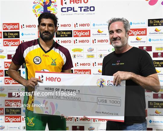 Guyana Amazon Warriors v Jamaica Tallawahs - Hero Caribbean Premier League (CPL) – Play-off - Match 31