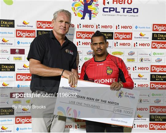 St. Lucia Zouks v Trinbago Knight Riders - Hero Caribbean Premier League (CPL) – Play-off - Match 32
