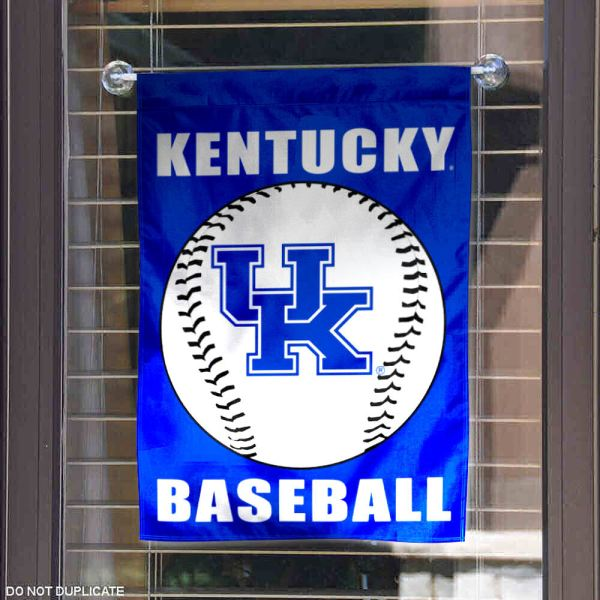 Kentucky Uk Wildcats Baseball Garden Flag 848267059948
