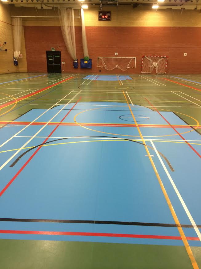 Marking Out a Basketball Court  Sports Flooring