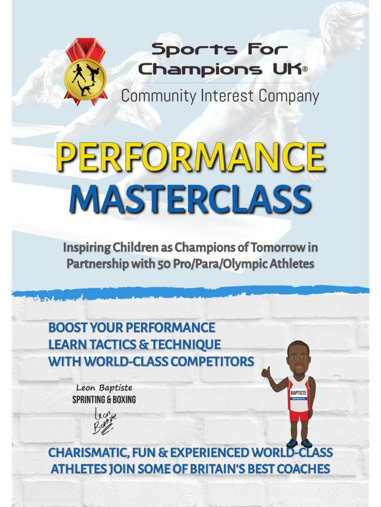 Performance <br/>Masterclass