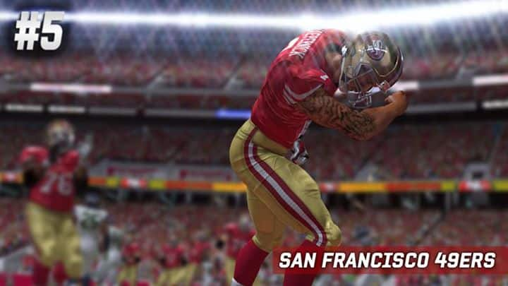 Madden_15_most_used_teams_San_Francisco_49ners