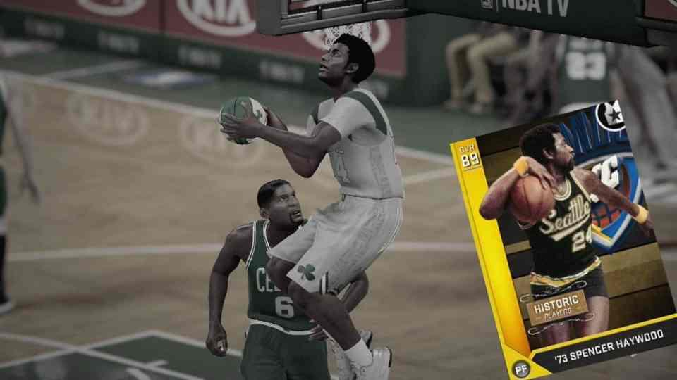 NBA 2K16 Hidden Gems For Your MyTEAM: Spencer Haywood