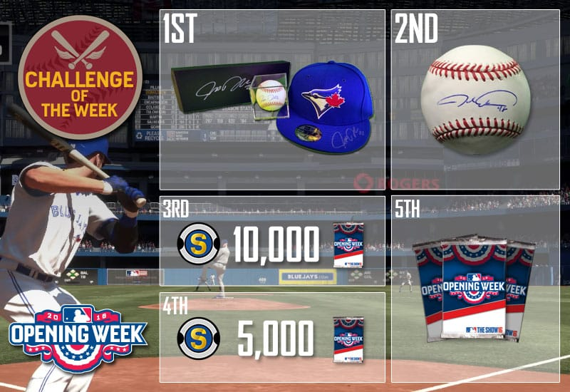 MLB The Show 16 Challenge of the Week 1