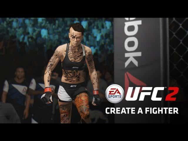 UFC 2 Create A Fighter Contest