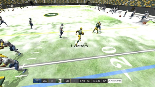 The new ground game features make running the ball a viable option.