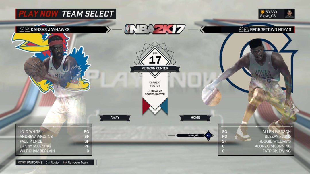 NBA 2K17 All Time College Bundle Out Now Sports Gamers Online