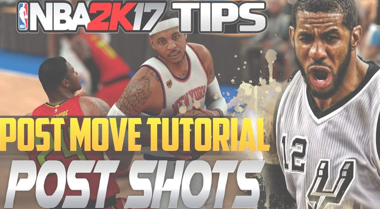 NBA 2K17 Post Up Tutorial Part 2 Sports Gamers Online