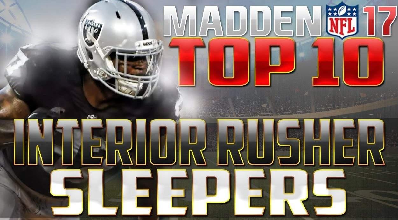 Madden 17 CFM Tips Sleepers Raiders
