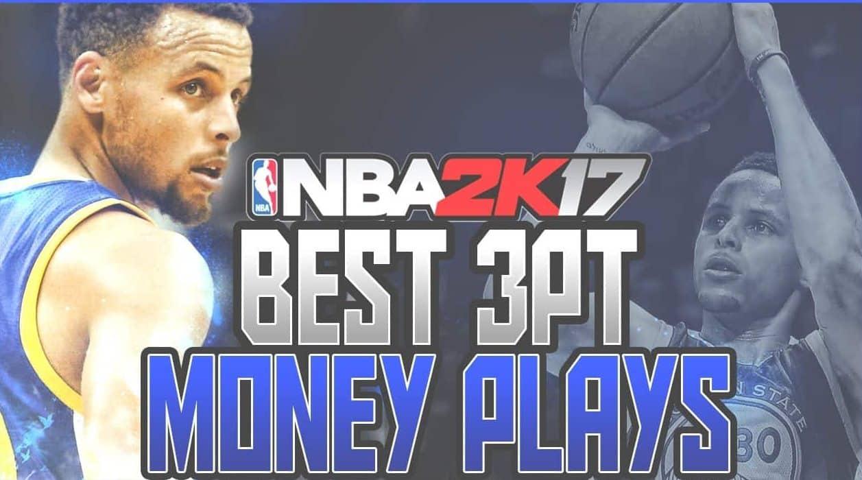 NBA 2k17 Best 3 Point Plays