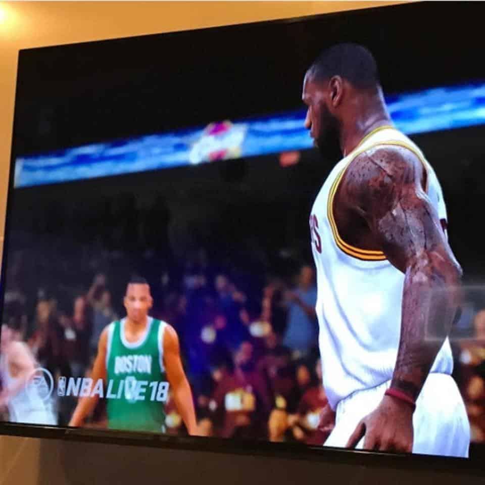 NBA Live 18 Leaked Screenshot