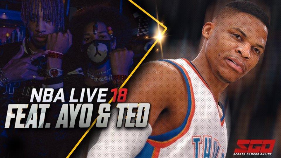 nba live 18 gameplay trailer ayo & teo