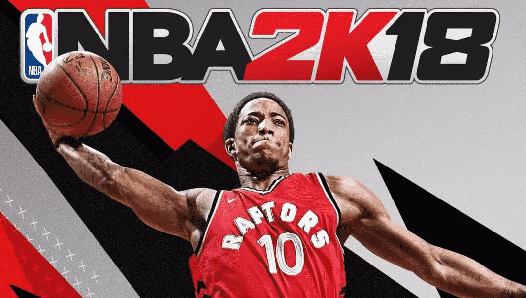 Wallpaper Falling Off Wall Demar Derozan To Grace Nba 2k18 Canadian Cover Sports
