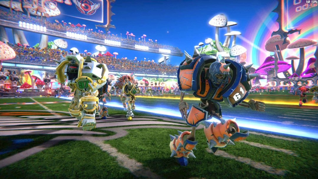 Mutant Football League Smashes Into Open Beta Sports Gamers Online