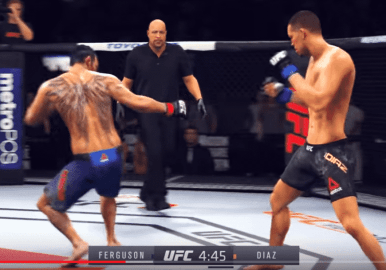 UFC 3 use of microtransactions