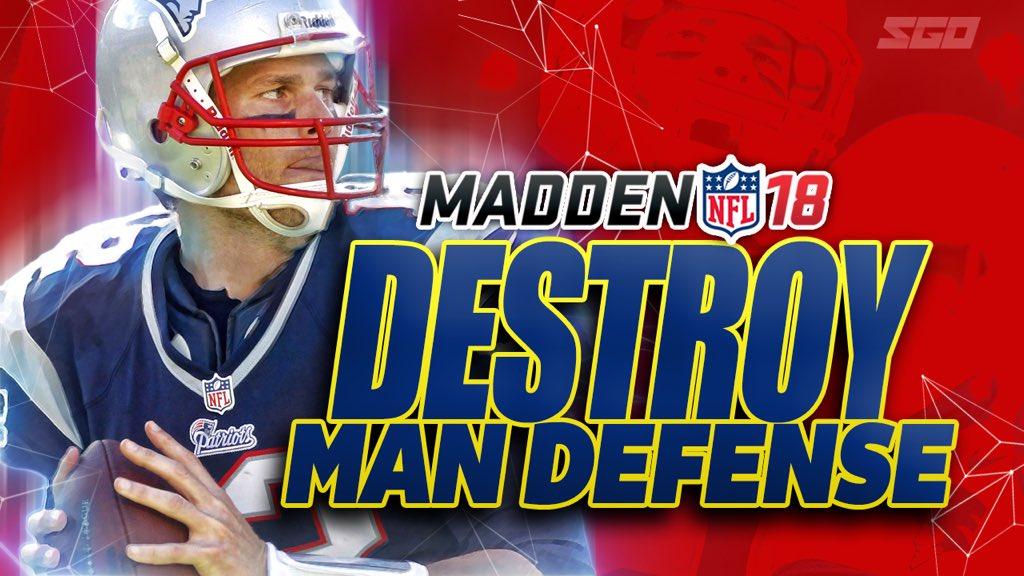 Madden 18 Destroying the Man D