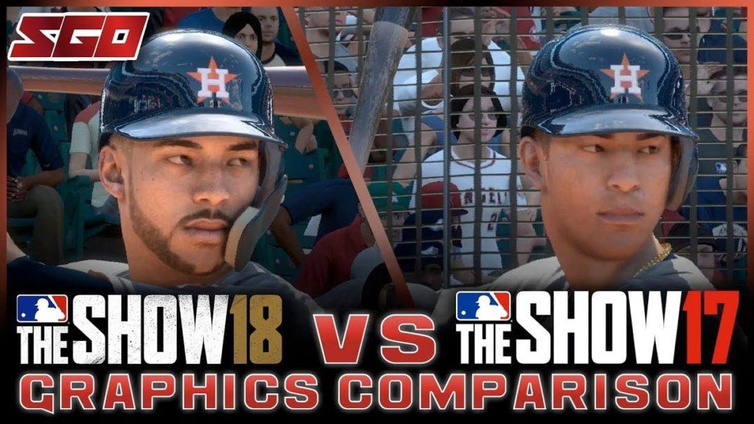 MLB The Show 18 Vs MLB The Show 17 Graphics Comparison