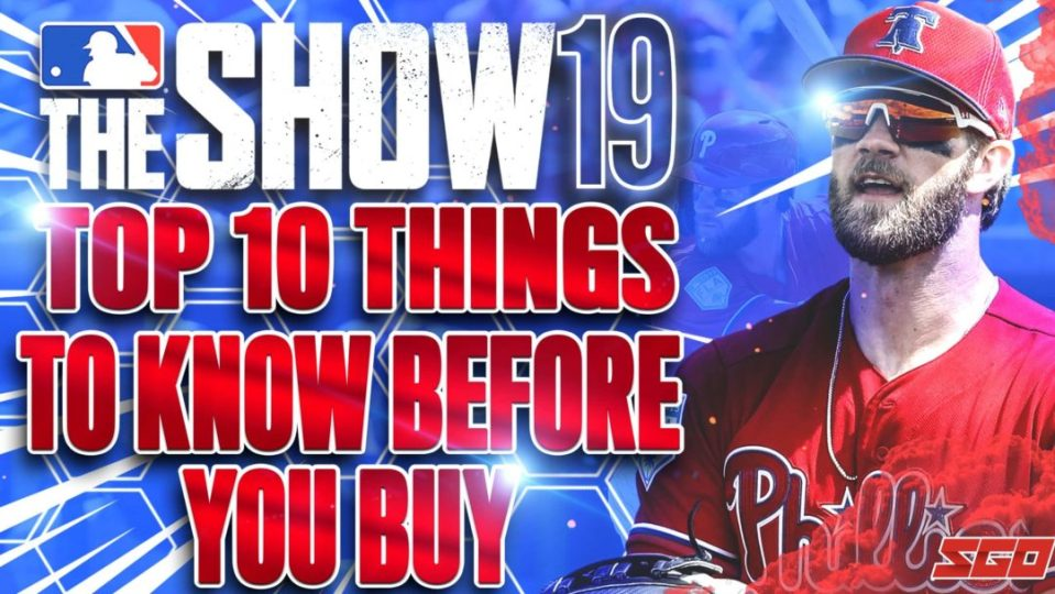 MLB The Show 19 10 Things