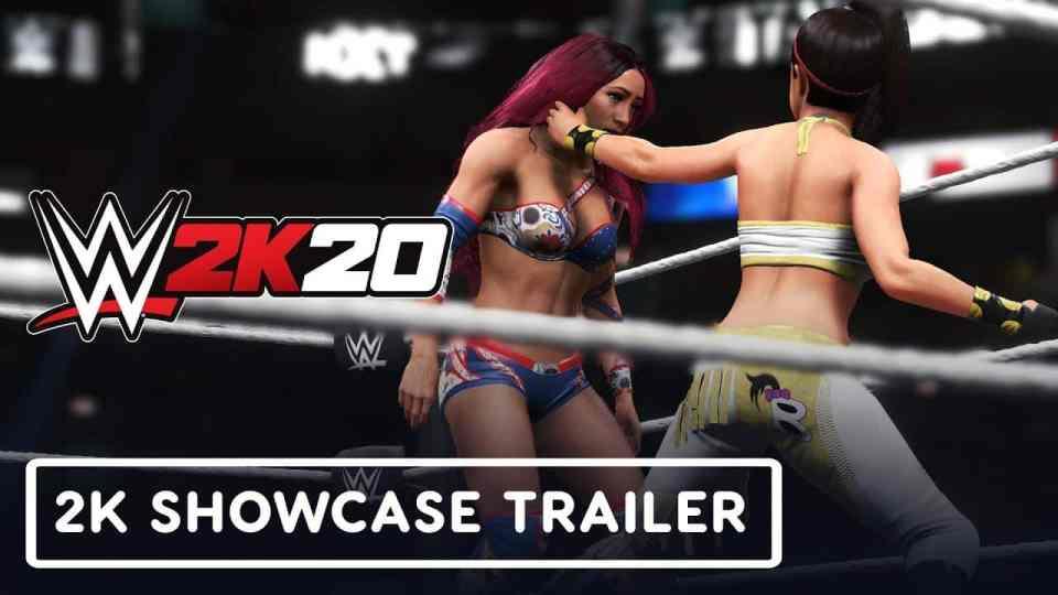 WWE 2K20 Women'sEvolution