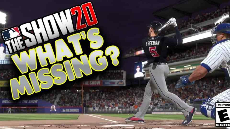 MLB The Show 20 Missing Features
