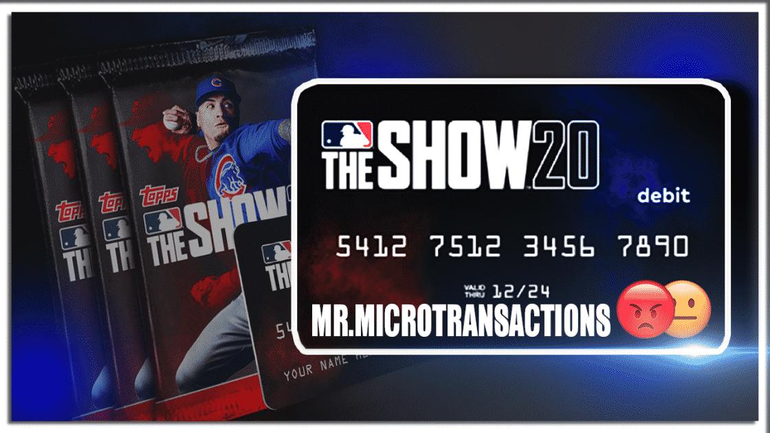 MLB The Show 20 Debit Card