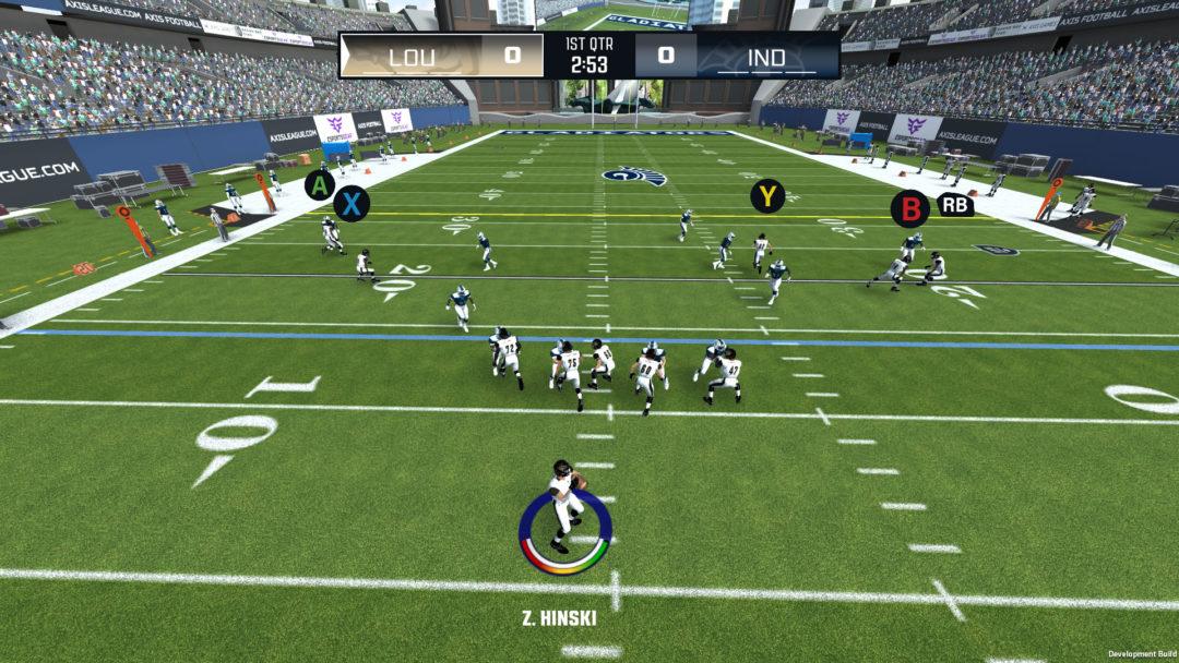 Axis Football 2020 Gameplay Trailer
