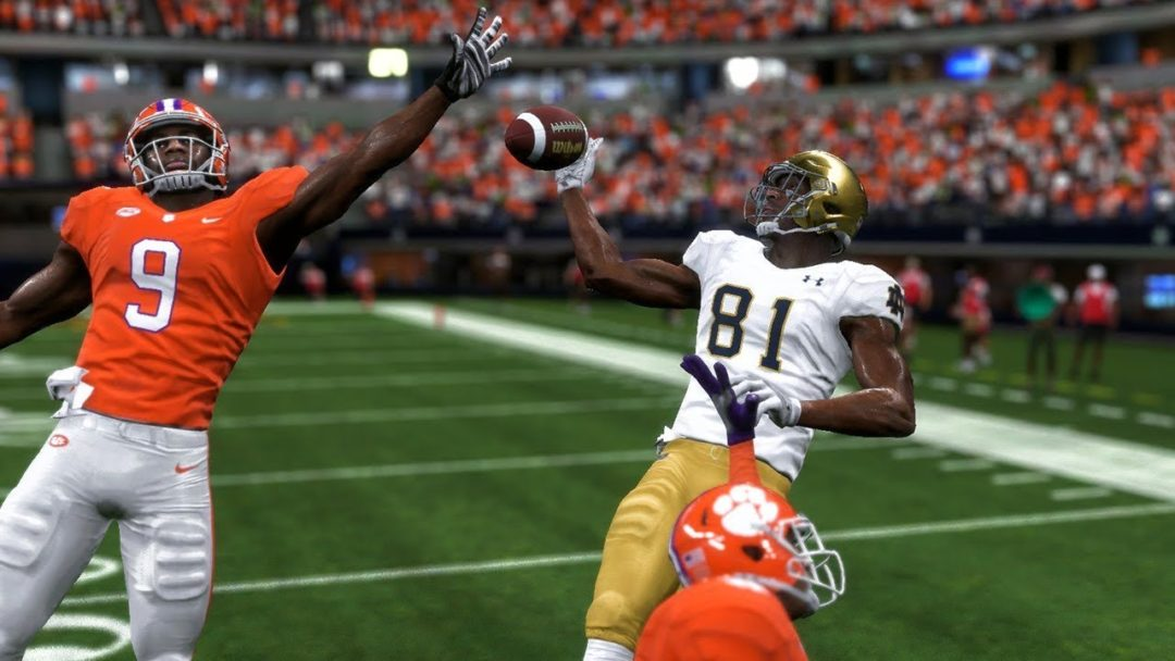 Notre Dame EA Sports College Football