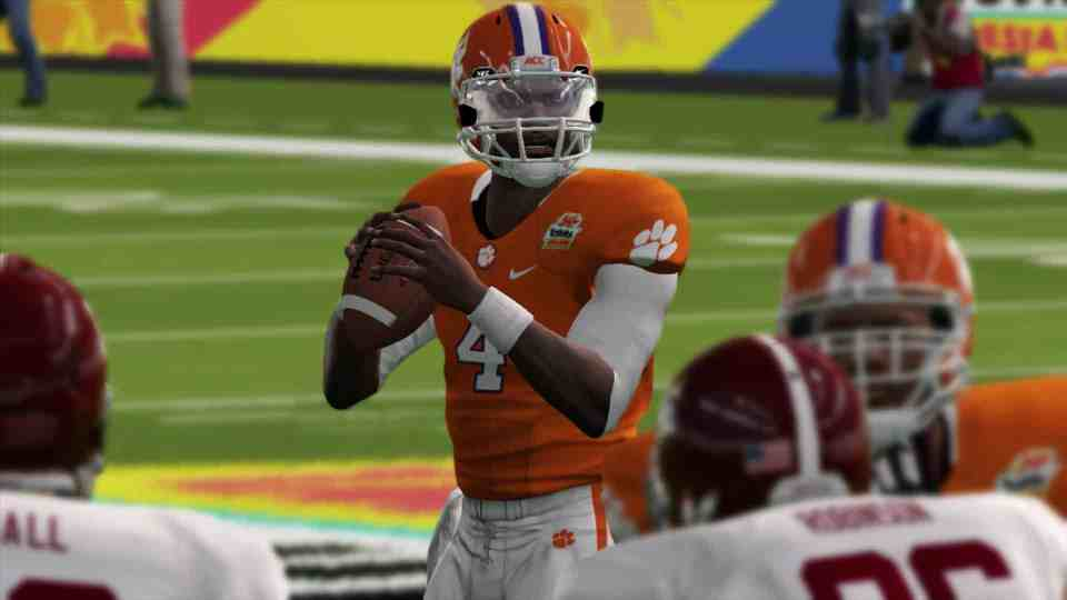 EA College Football features