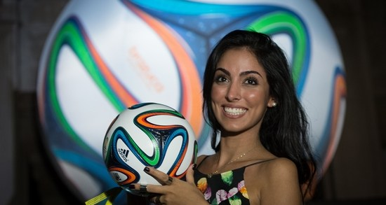 """BRAZUCA"""" The official ball of FIFA World Cup"""