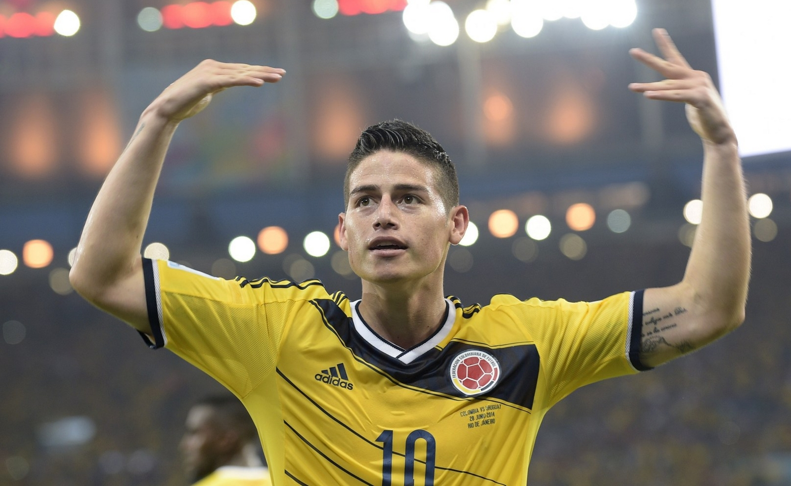 World Cup Stunner James Rodriguez Hd Wallpapers