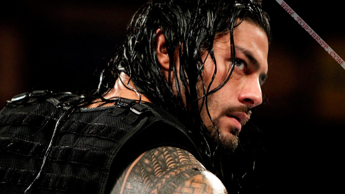wwe power house roman