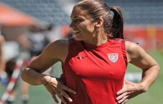 Hope Solo Hottest Female Soccer Players