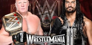 Roman V Lesnar Roman Reigns vs. Brock Lesnar