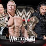 Roman vs Lesnar WrestleMania 31