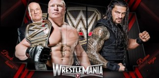 Roman vs Lesnar WrestleMania 31