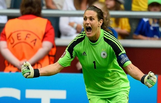 Nadine Angerer Best Female Soccer Players