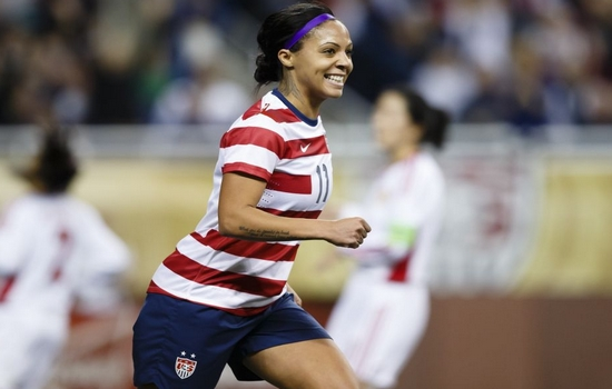 Sydney Leroux Best Female Soccer Players
