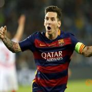 Messi Scored Two Stunning Free-kick Goals in UEFA Super Cup