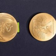 Rio Olympics Gold Medal Design