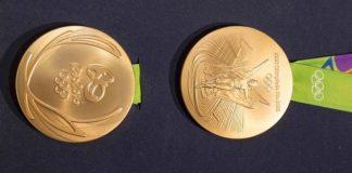 Rio Olympics Gold Medal Design