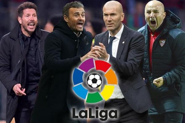 Spanish La Liga Title Race, Matchday 28 stats