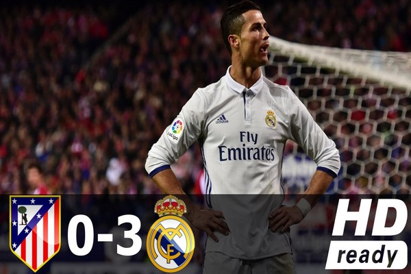 Real Madrid 3-0 Atletico Madrid Champions League Semifinals Highlights: Ronaldo Stunning Hat-Trick