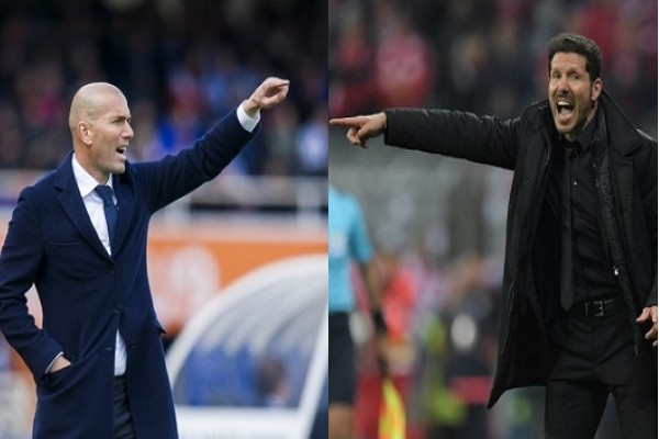 Madrids Derby; Real Madrid v Atletico Madrid