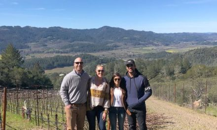 Aaron Rodgers and Danica Patrick Enjoyed Wine Country this Past Week