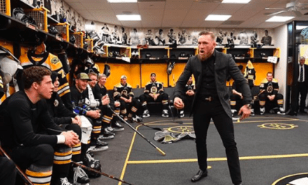 Watch Conor McGregor's Inspiring Pep Talk to NHL's Boston Bruins