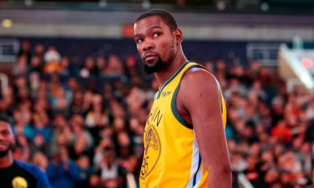 f9937589eb90 Kevin Durant Calls Out Ref On Instagram After Warriors  Controversial OT  Loss to Wolves