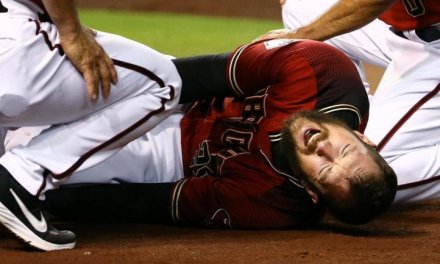 Steven Souza Jr. Will Miss the Entire Season after Blowing His Knee Out Stepping on the Plate
