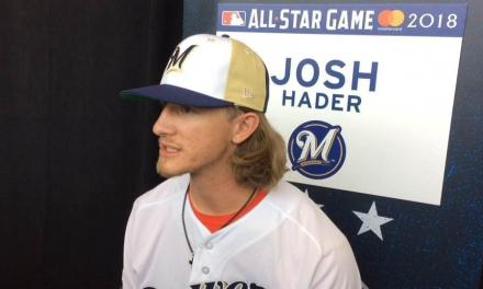 Brewers Reliever Josh Hader Records an Immaculate Inning