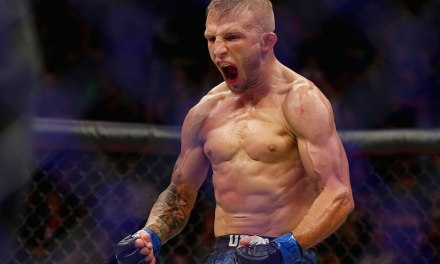 T.J. Dillashaw Relinquishes Bantamweight Belt After Failed Drug Test